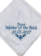 Personalised cotton handkerchief